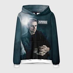 Толстовка-худи мужская Armin Van Buuren цвета 3D-белый — фото 1