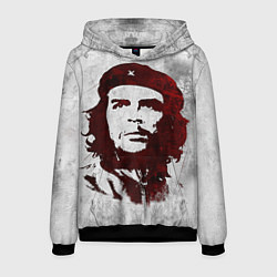 Толстовка-худи мужская Че Гевара цвета 3D-черный — фото 1