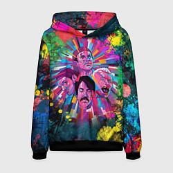 Толстовка-худи мужская Red Hot Chili Peppers Art цвета 3D-черный — фото 1