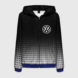 Мужская толстовка на молнии Volkswagen