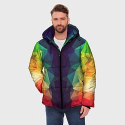 Куртка зимняя мужская Grazy Poly VPPDGryphon цвета 3D-черный — фото 2