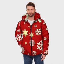 Куртка зимняя мужская Snow цвета 3D-черный — фото 2