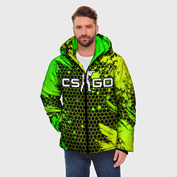 Куртка зимняя мужская COUNTER STRIKE цвета 3D-черный — фото 2