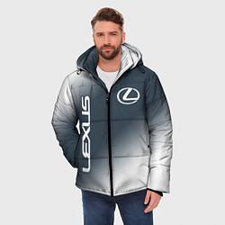 Куртка зимняя мужская LEXUS ЛЕКСУС цвета 3D-черный — фото 2