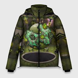 Куртка зимняя мужская AbstractThings 3 цвета 3D-черный — фото 1