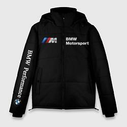 Куртка зимняя мужская BMW M цвета 3D-черный — фото 1
