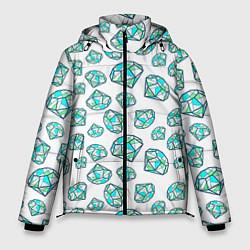 Куртка зимняя мужская Бриллианты цвета 3D-черный — фото 1