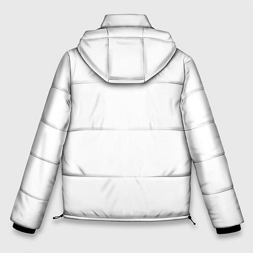 Мужская зимняя куртка Panda Love / 3D-Черный – фото 2