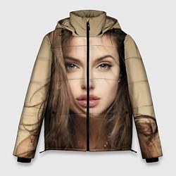 Куртка зимняя мужская Анжелина Джоли цвета 3D-черный — фото 1