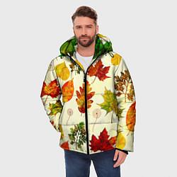 Куртка зимняя мужская Осень цвета 3D-черный — фото 2