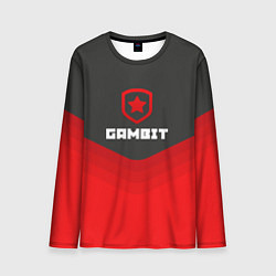 Лонгслив мужской Gambit Gaming Uniform цвета 3D — фото 1