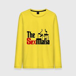 Лонгслив хлопковый мужской The SexMafia цвета желтый — фото 1