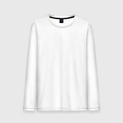 Лонгслив хлопковый мужской Archive цвета белый — фото 1