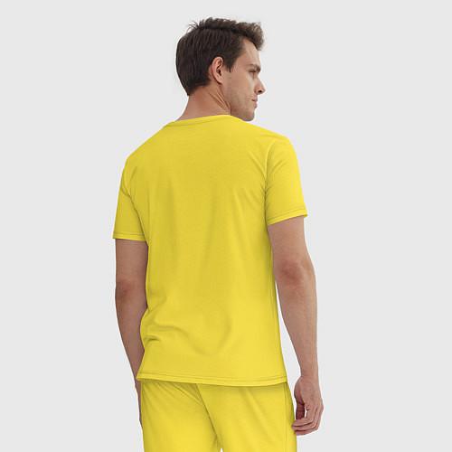 Мужская пижама Misfits / Желтый – фото 4