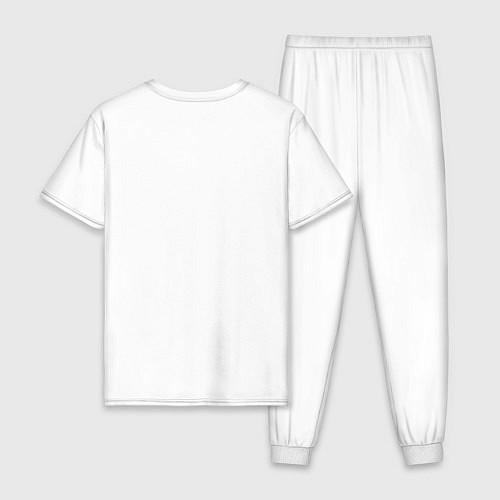 Мужская пижама Misfits: White rabbit / Белый – фото 2