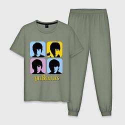 Мужская пижама The Beatles: pop-art