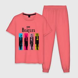 Мужская пижама Walking Beatles