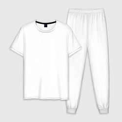 Пижама хлопковая мужская Apex Legends цвета белый — фото 1