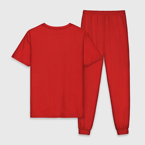 Мужская пижама Регги / Красный – фото 2