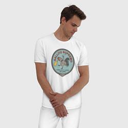 Пижама хлопковая мужская GALLITO SUPREMO FAR CRY 6 цвета белый — фото 2