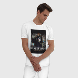 Пижама хлопковая мужская ANTIN8RINO x DANETVRODE-SPB цвета белый — фото 2