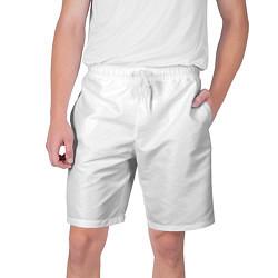 Шорты на шнурке мужские Без дизайна цвета 3D — фото 1
