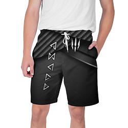 Шорты на шнурке мужские The Witcher цвета 3D — фото 1