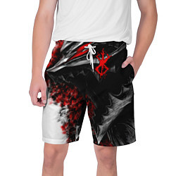 Шорты на шнурке мужские BERSERK БЕРСЕРК цвета 3D-принт — фото 1