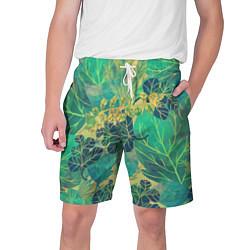 Мужские шорты Узор из листьев