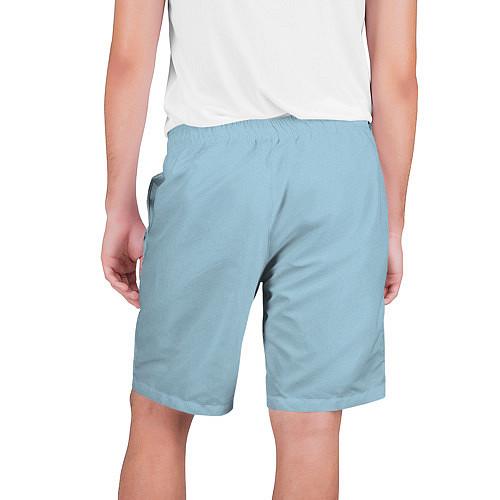 Мужские шорты Страстная девушка, красивая / 3D – фото 2
