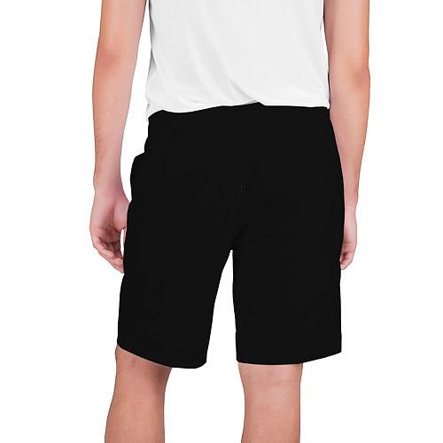 Мужские шорты Девушка в шляпе / 3D-принт – фото 2