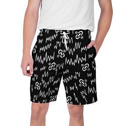 Шорты на шнурке мужские Chemical Brothers: Pattern цвета 3D — фото 1