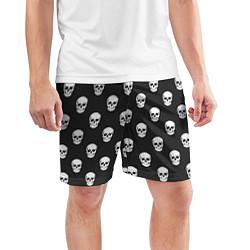 Шорты спортивные мужские BFMV: Skulls цвета 3D — фото 2