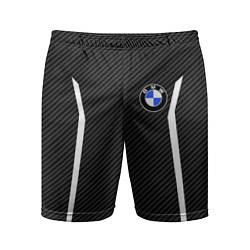 Шорты спортивные мужские BMW Motorsport Carbon цвета 3D — фото 1