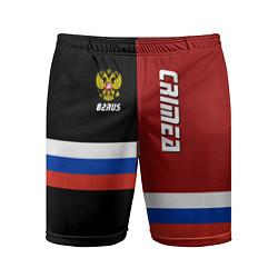 Шорты спортивные мужские Crimea, Russia цвета 3D — фото 1
