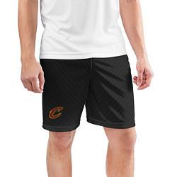 Шорты спортивные мужские Cleveland Cavaliers цвета 3D-принт — фото 2