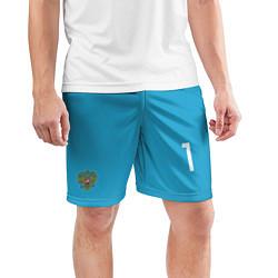 Шорты спортивные мужские Акинфеев гостевая ЧМ-2018 цвета 3D — фото 2