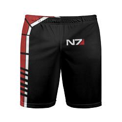 Мужские спортивные шорты MASS EFFECT N7
