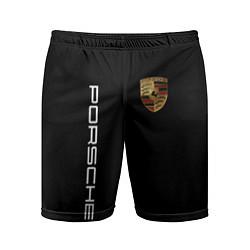 Шорты спортивные мужские PORSCHE цвета 3D — фото 1
