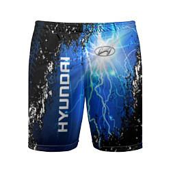 Шорты спортивные мужские Hyundai цвета 3D — фото 1