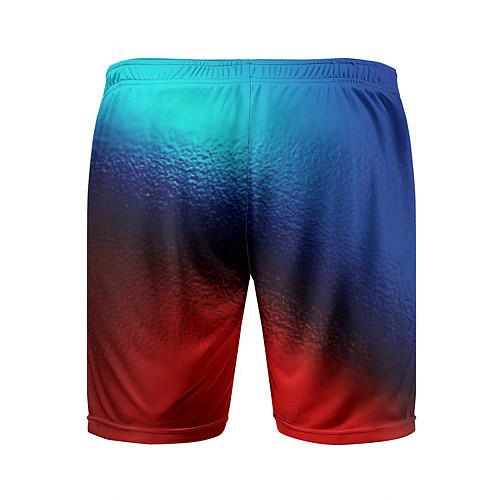 Мужские спортивные шорты Синий и красный / 3D – фото 2
