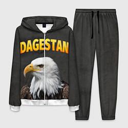 Костюм мужской Dagestan Eagle цвета 3D-белый — фото 1