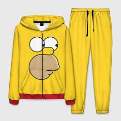 Костюм мужской Лицо Гомера цвета 3D-красный — фото 1