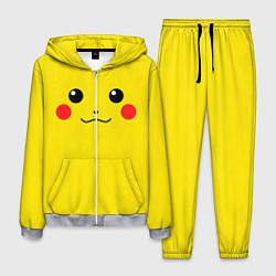 Костюм мужской Happy Pikachu цвета 3D-меланж — фото 1