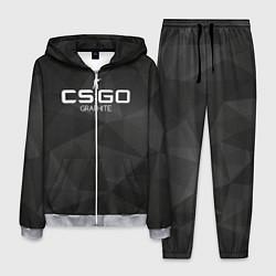 Костюм мужской CS:GO Graphite цвета 3D-меланж — фото 1