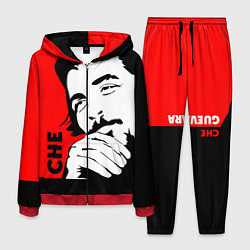 Костюм мужской Че Гевара цвета 3D-красный — фото 1