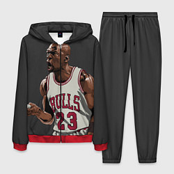 Костюм мужской Bulls 23: Jordan цвета 3D-красный — фото 1
