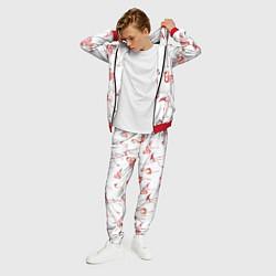 Костюм мужской Действия фламинго цвета 3D-красный — фото 2