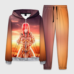 Костюм мужской Fairy Tail цвета 3D-меланж — фото 1