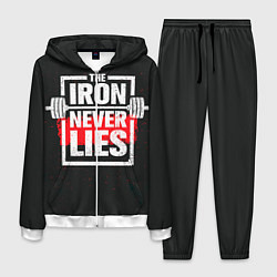 Костюм мужской The iron never lies цвета 3D-белый — фото 1